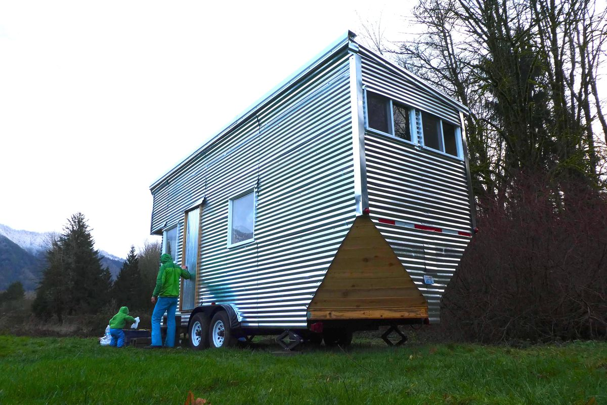 This Tiny House On Wheels Is Shiny Eco Friendly And 30k