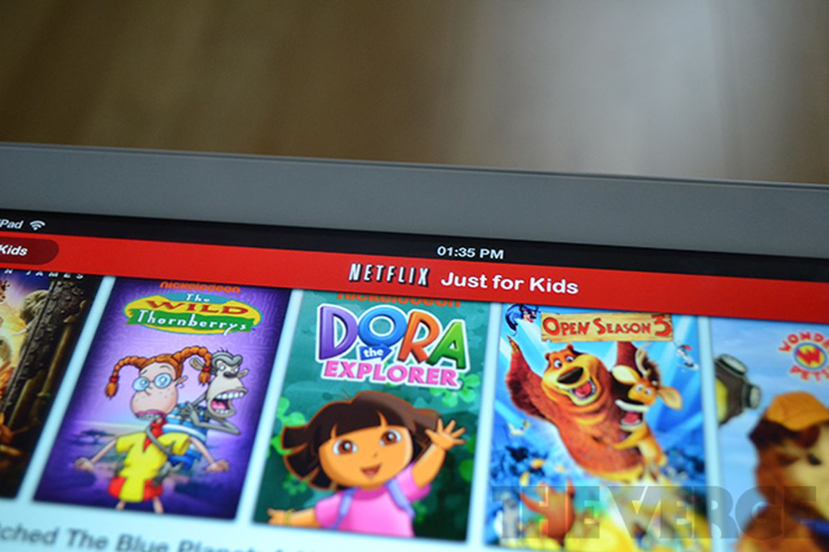 Netflix Adds Just For Kids Mode To Ipad App To Make Parents Lives