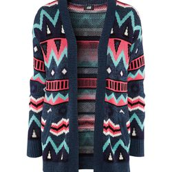 """<b>H&M</b> printed cardigan, <a href=""""http://www.hm.com/us/product/05012?article=05012-A#article=05012-B"""">$29.95</a>"""