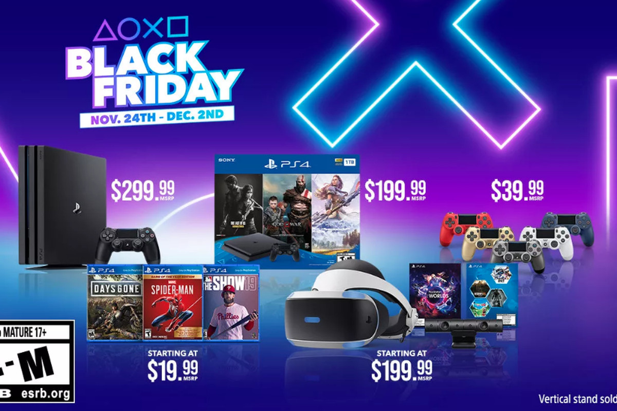 The Black Friday Playstation 4 Bundle Drops This Weekend Polygon