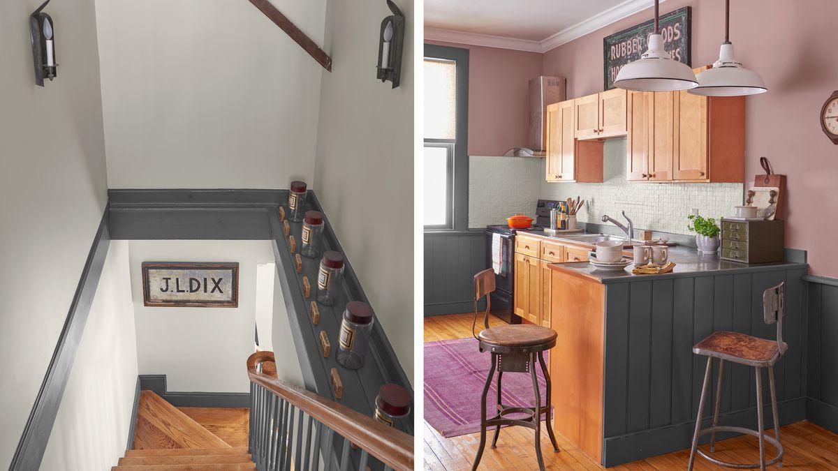 stairway/kitchen, Getting Schooled, Sep/Oct 2020
