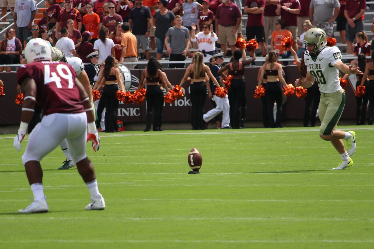 A View From The Sidelines Virginia Tech Vs William And Mary