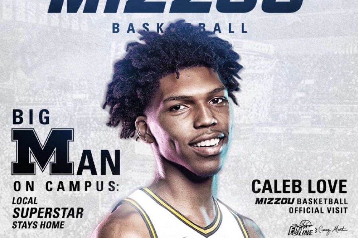 Mizzou Basketball might be trending with Caleb Love after Official Visit