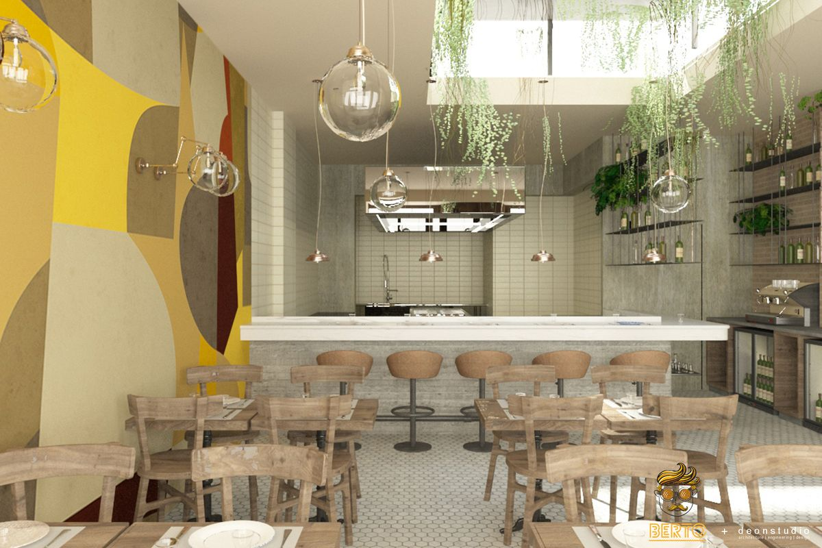Berto adopts a modern, slick, millennial-friendly aesthetic on Holloway Road in north London