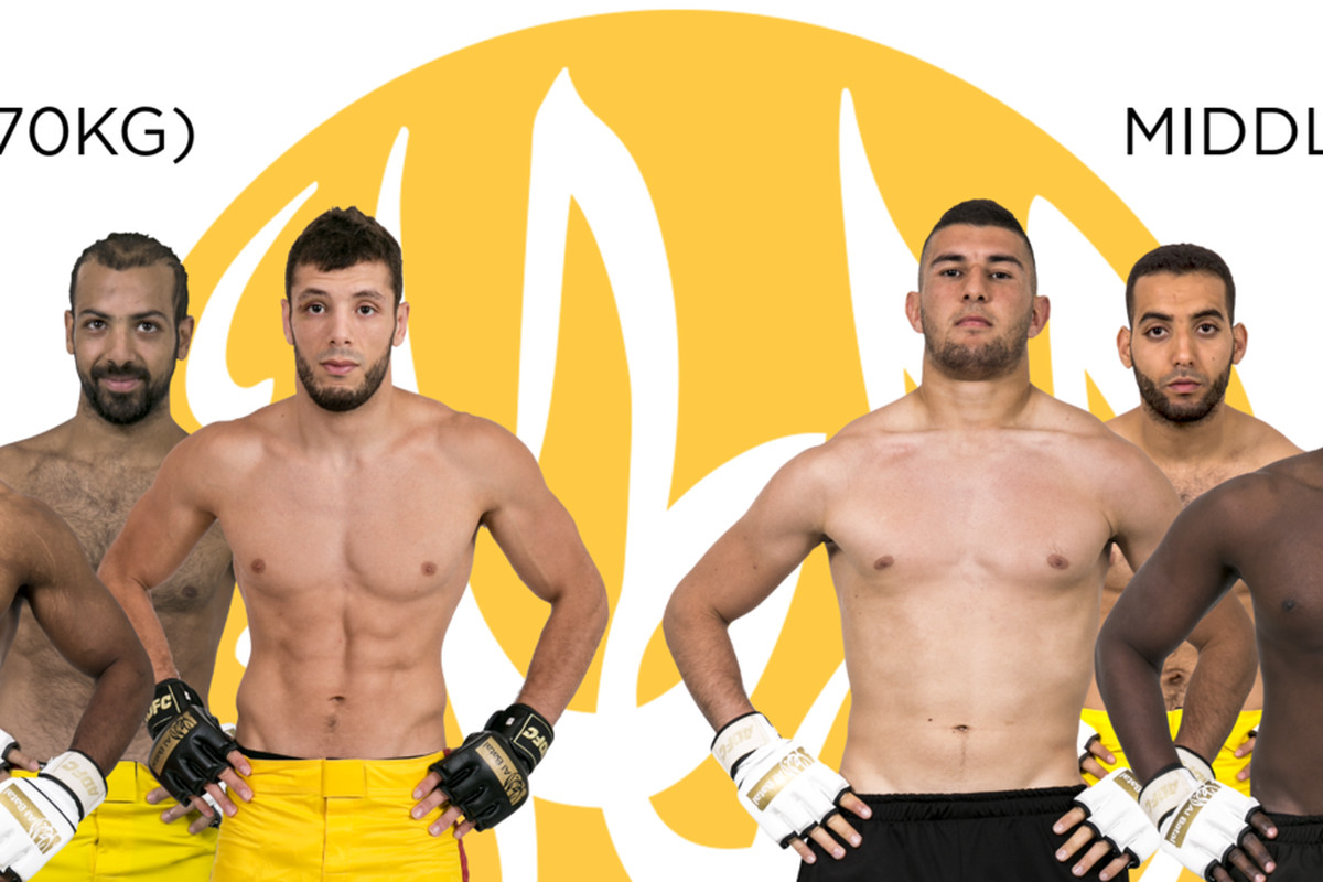 arab mma reality show 'al batal' reveals full fighter cast for