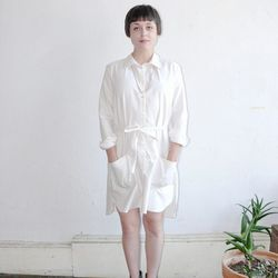 Who says artist aprons can't be chic? The Podolls Classic ShirtDress, $158, Vagabond Boutique.