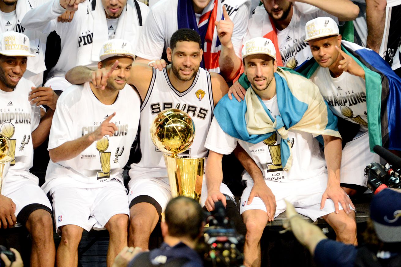 The toughest hurdle the Spurs cleared on the way to their 2014 championship