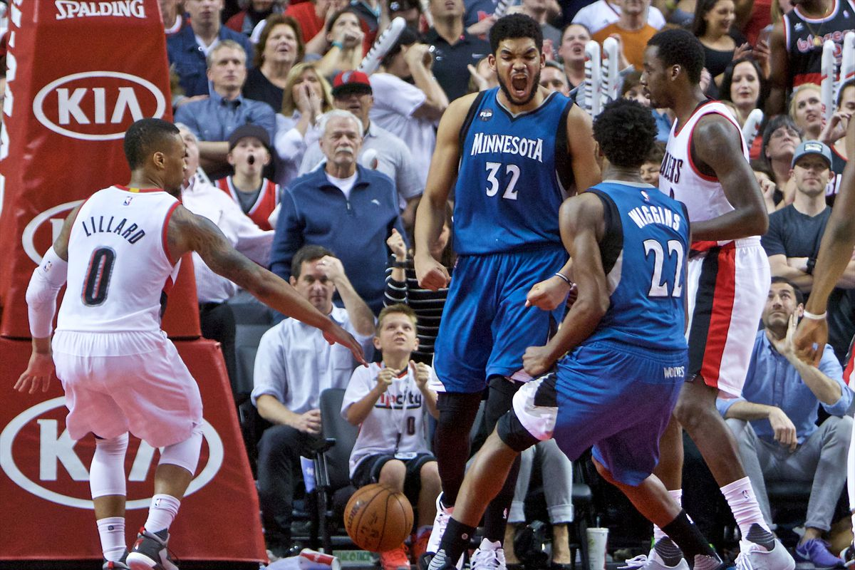 Karl-Anthony Towns and Andrew Wiggins are the pillars of the Timberwolves future