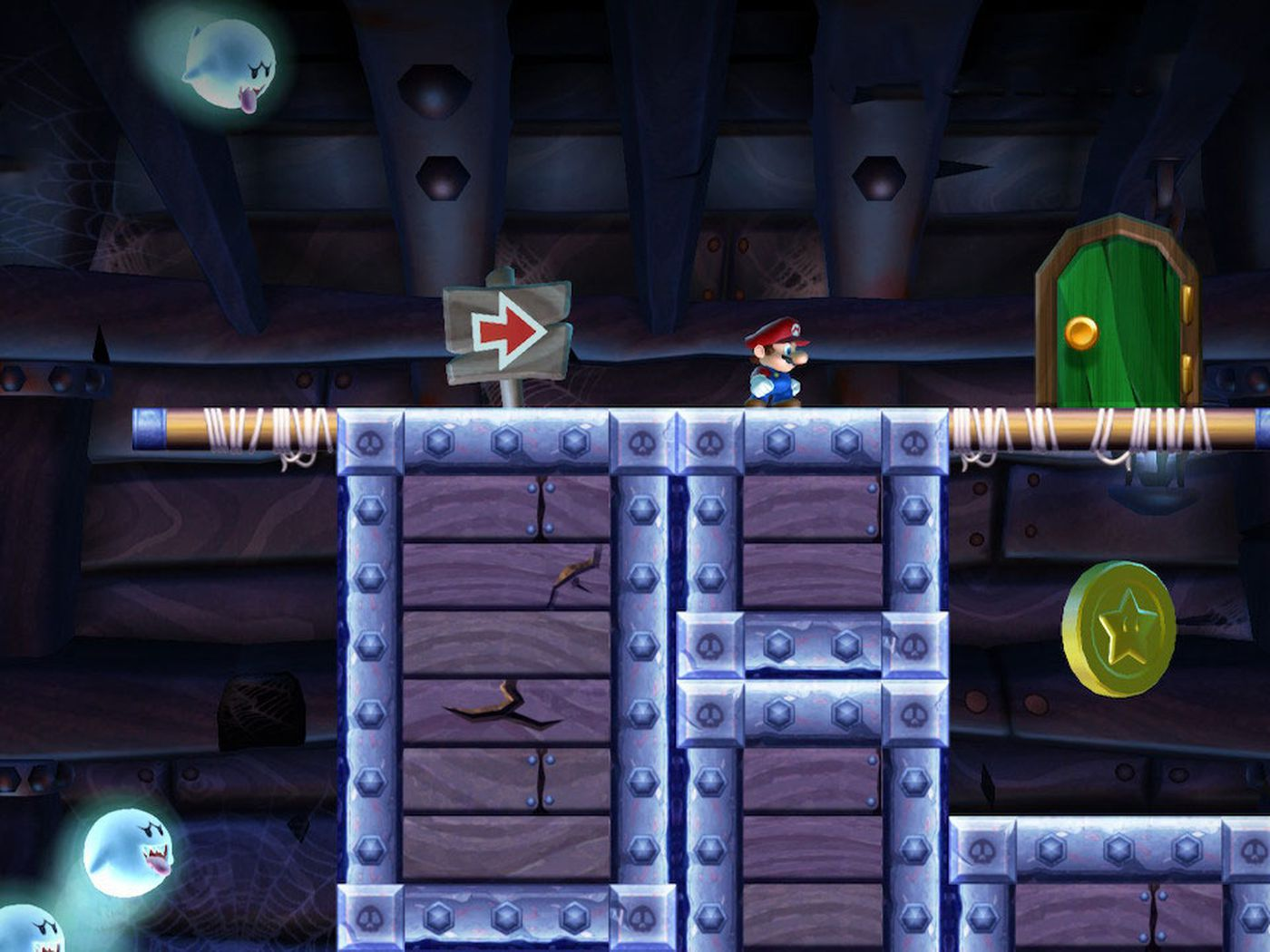 Sparkling Waters Star Coins Locations New Super Mario Bros U