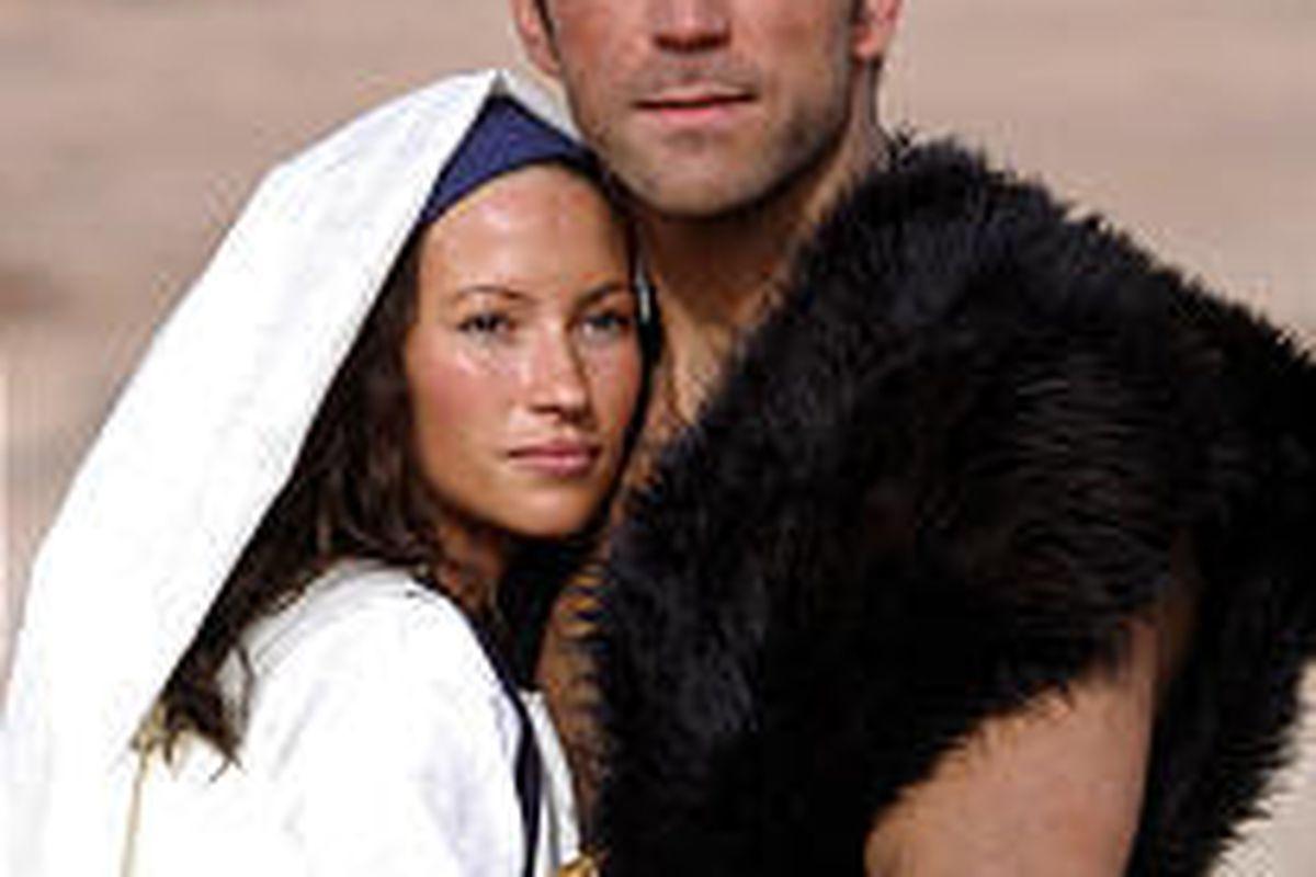 """Jacque Gray, Noah Danby in """"The Book of Mormon Movie."""""""