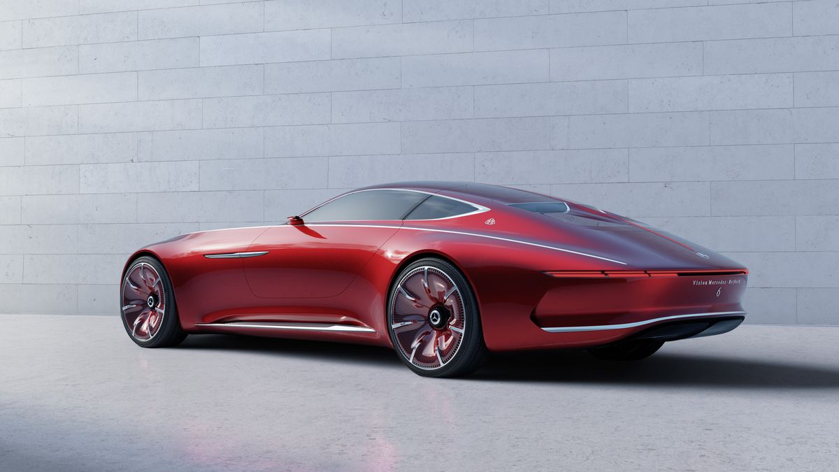 The Vision Mercedes Maybach 6 Coupe Concept Is A Retro Futuristic