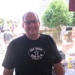 Texas Monthly barbecue editor/cookbook author Daniel Vaughn