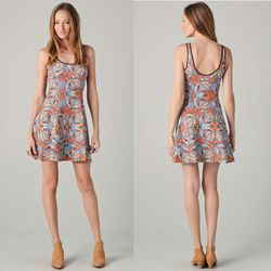 "Clover Canyon stained glass short scuba dress, <a href=""http://www.shopbop.com/stained-glass-short-scuba-dress/vp/v=1/845524441939348.htm"">$216</a>"