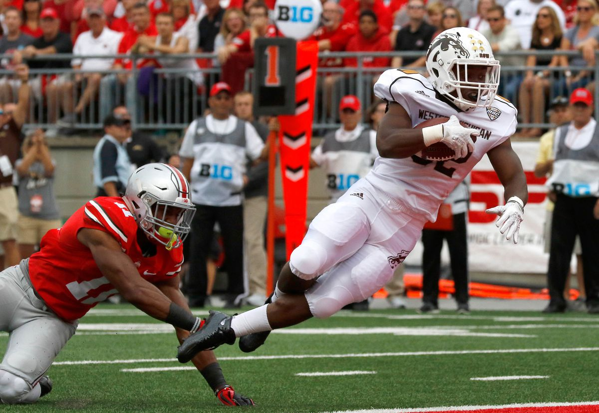 NCAA Football: Western Michigan at Ohio State