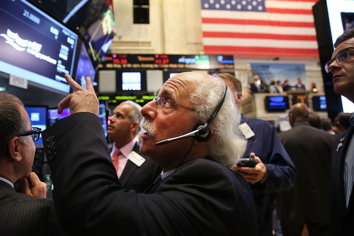 Stock photo of the stock market