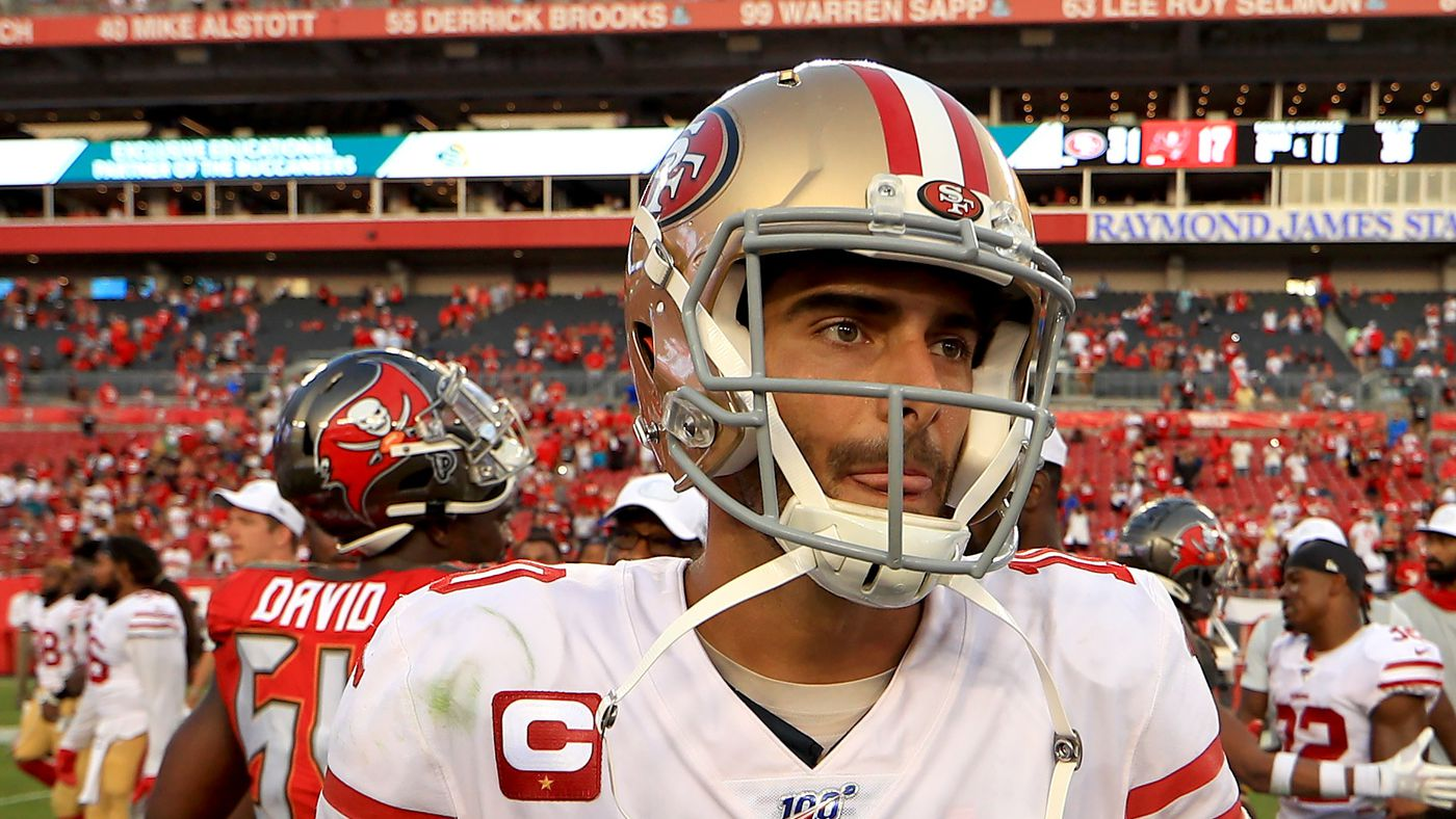 49ers news: Jimmy Garoppolo showed off his quick release in Week 1. He has the second-fastest of all QBs
