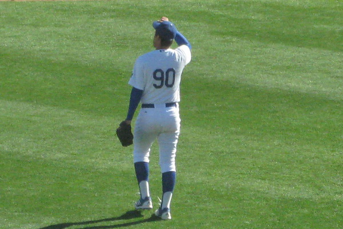 Zach Lee, seen here in spring training
