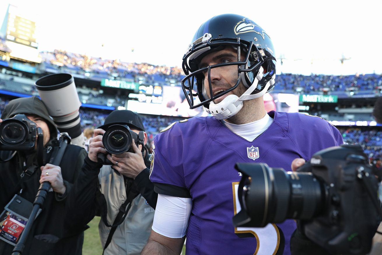 1078758352.jpg.0 - Ravens are trading Joe Flacco to the Broncos. Yep, John Elway did it again