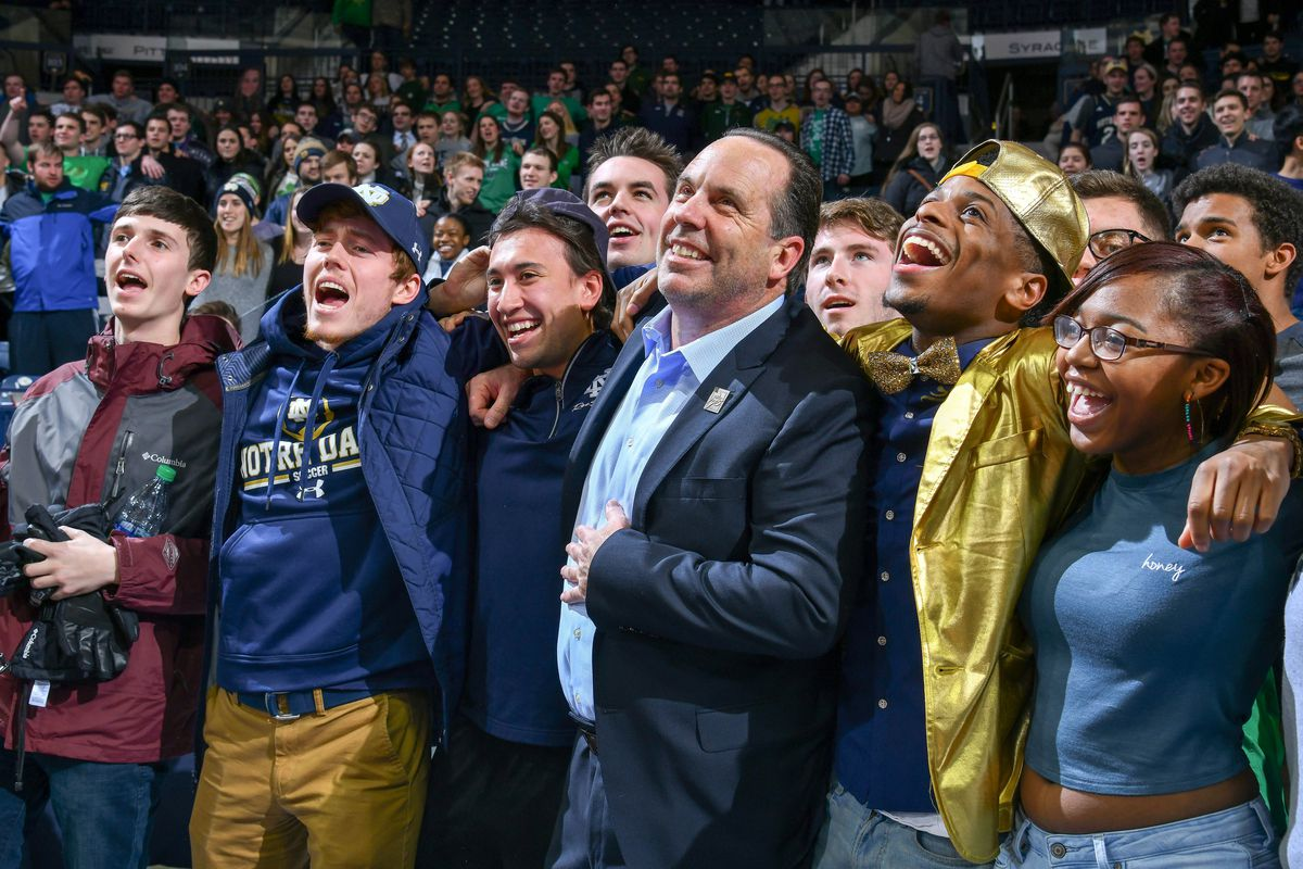 NCAA Basketball: Boston College at Notre Dame