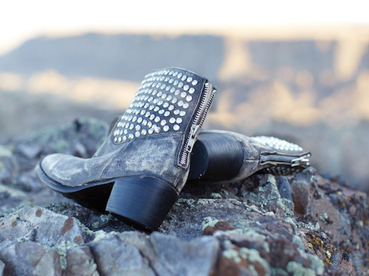 """Dolce Vita's <a href=""""http://www.dolcevita.com/New-Shoe-Arrivals/Mella-Studded-Boot/PAOIICCIGCIIFJKO/3013-3014/Product"""">Mella</a> boot from the brand's fall 2012 lookbook"""