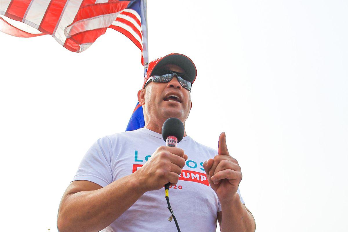 Tito Ortiz - Celebrity Sightings In Los Angeles - October 31, 2020