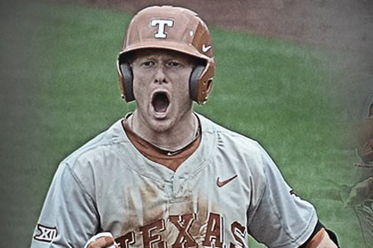 Zane Gurwitz's 2 RBI hit put Texas ahead of Oklahoma St. for good in the 8th inning of the Big XII Tournament Championship game.