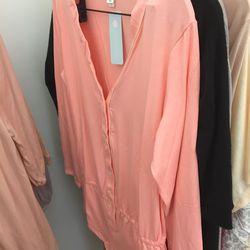 Peach teddy, $35