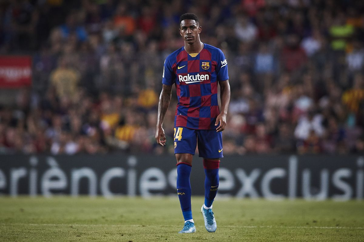 With Jordi Alba out, it's time for Junior Firpo