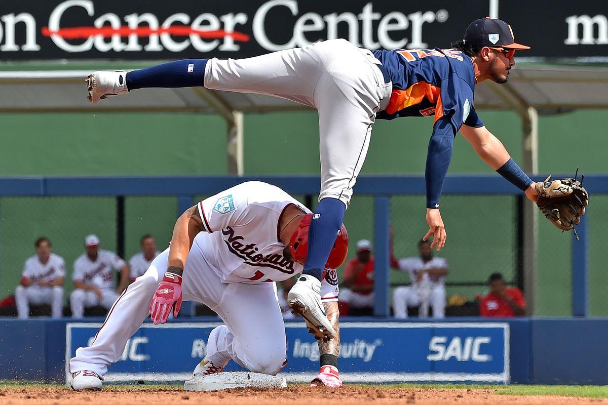 MLB: Spring Training-Houston Astros at Washington Nationals