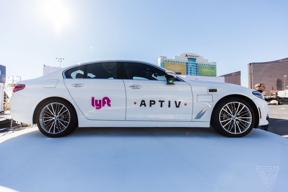 Lyft And Aptiv Extend Their Self Driving Taxi Pilot In Las Vegas The Verge