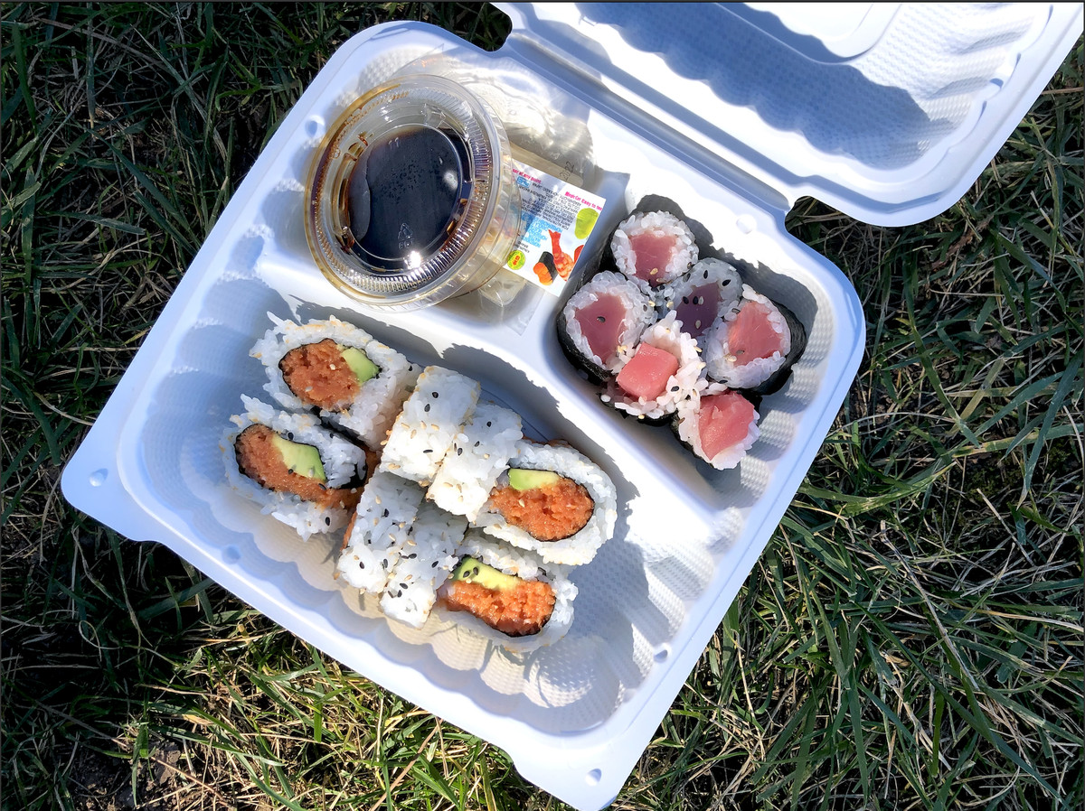 Sushi from Sushiya in Pasadena.