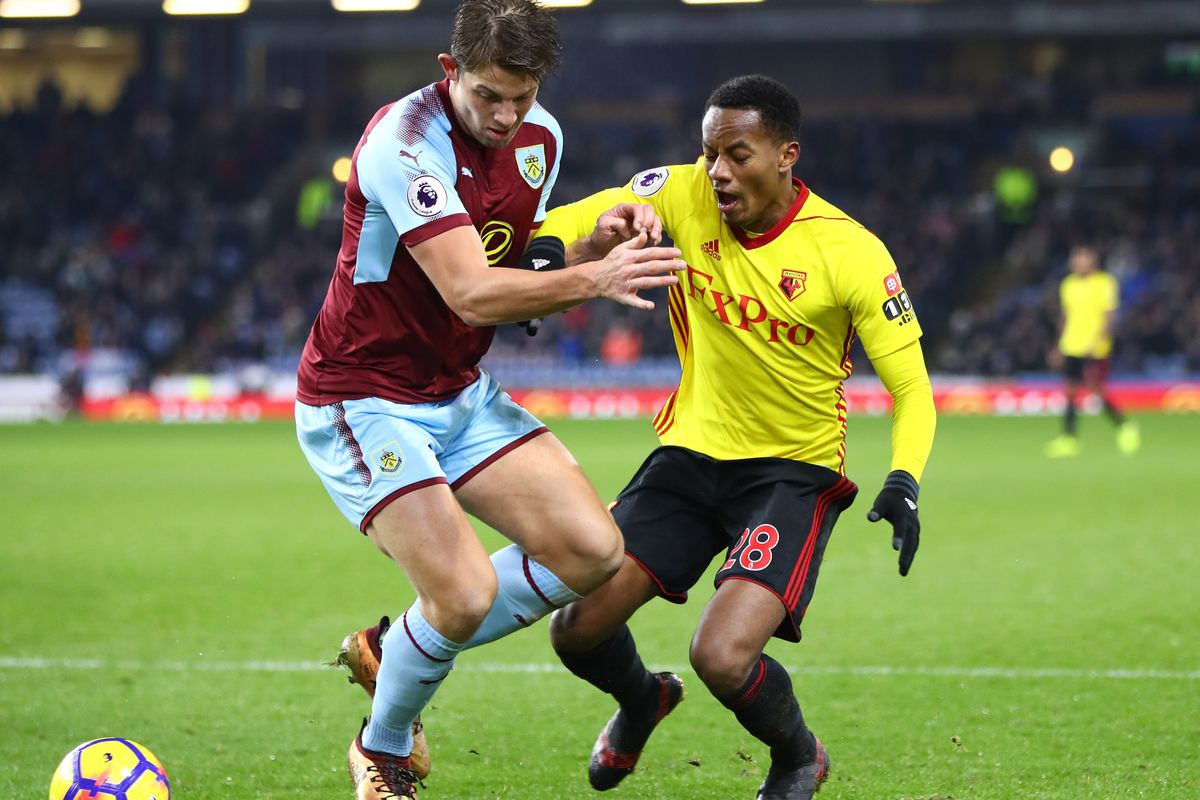 Manchester City and Arsenal eye Burnley's James Tarkowski