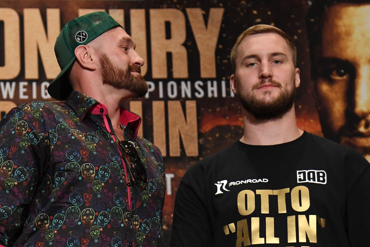 Time check! Tyson Fury and Otto Wallin will fight live on ESPN+ around 12:00 a.m. ET tonight