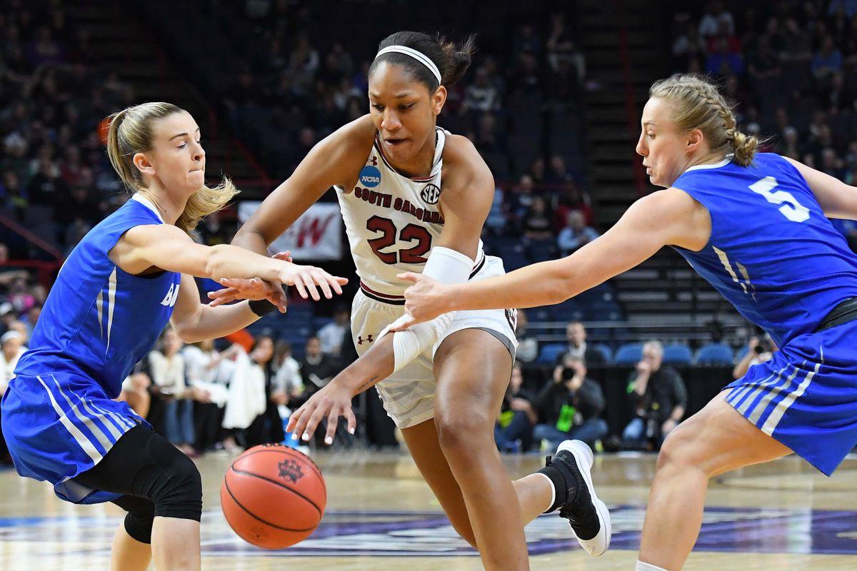 NCAA Womens Basketball: NCAA Tournament-Albany Regional-Buffalo vs South Carolina
