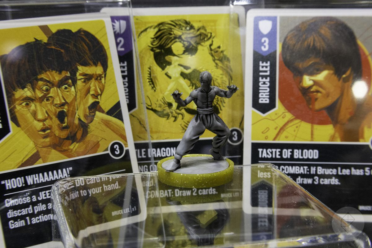 Board game finally lets Bruce Lee fight Buffy the Vampire