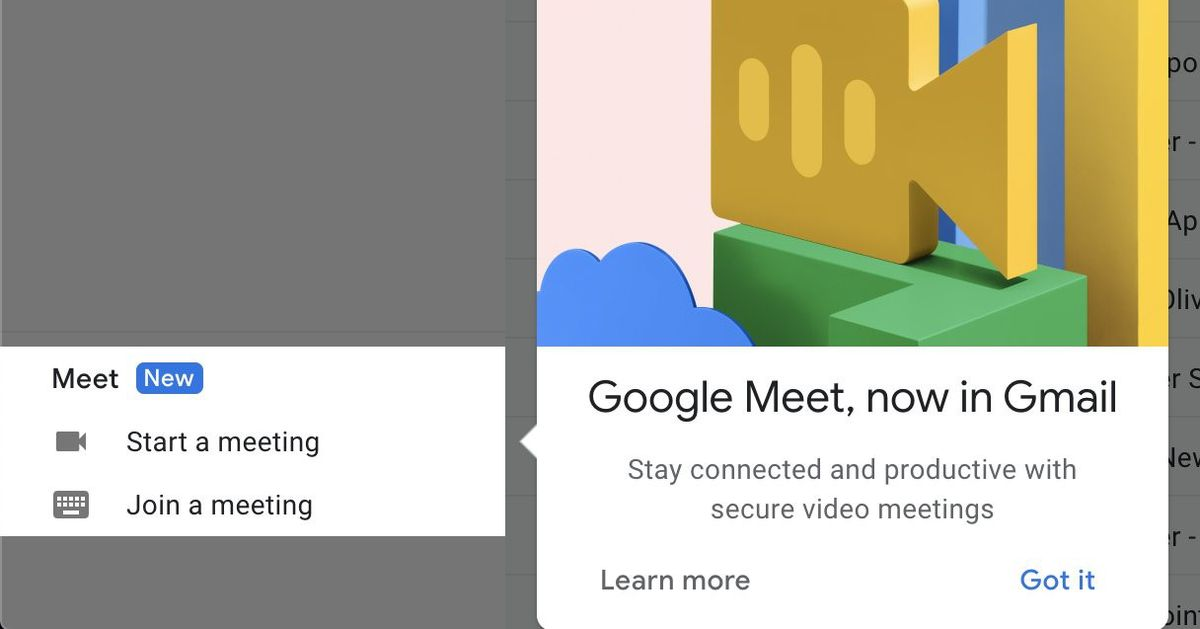 Videos Matching Maxing Out The Disaster Machine Roblox Techmeme Google Is Integrating Meet With Gmail For Non G Suite Customers With Some Users Already Seeing A Link To Launch Meet From Gmail S Sidebar Kim Lyons The Verge