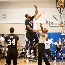 Drummond and Adams jump it up