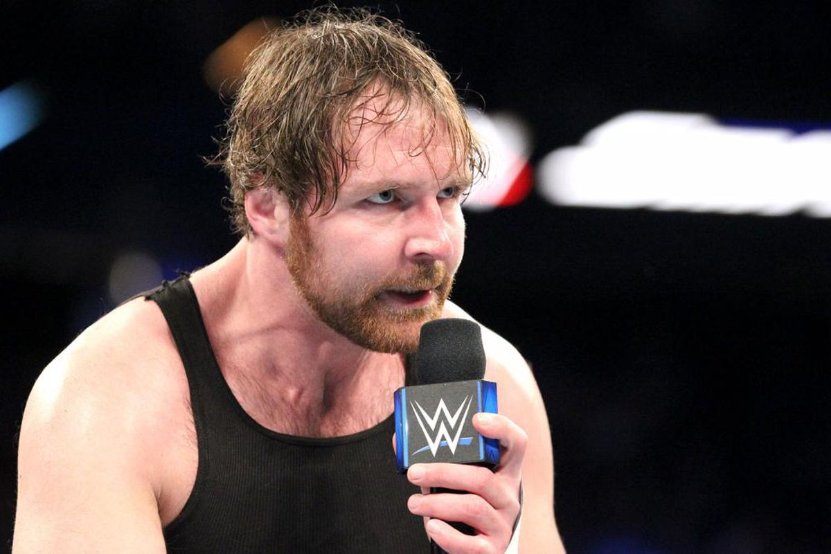 Dean ambrose theres been a big swell of pride in the smackdown wwe m4hsunfo