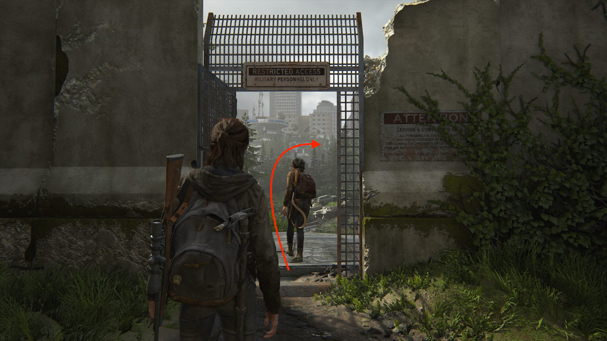Tower Doodles Artifact collectible The Last of Us Part 2 Seattle Day 1 (Ellie)
