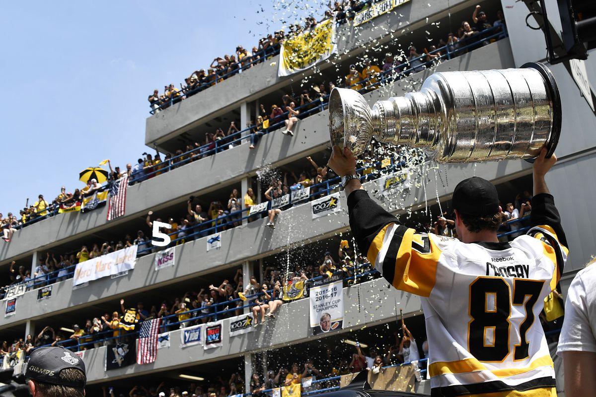NHL: JUN 14 Penguins Victory Parade