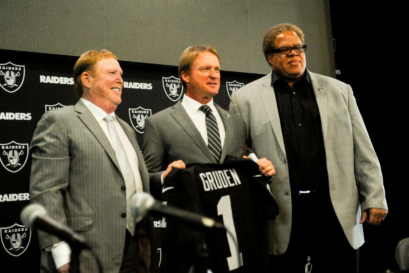 NFL: JAN 09 Jon Gruden Press Conference
