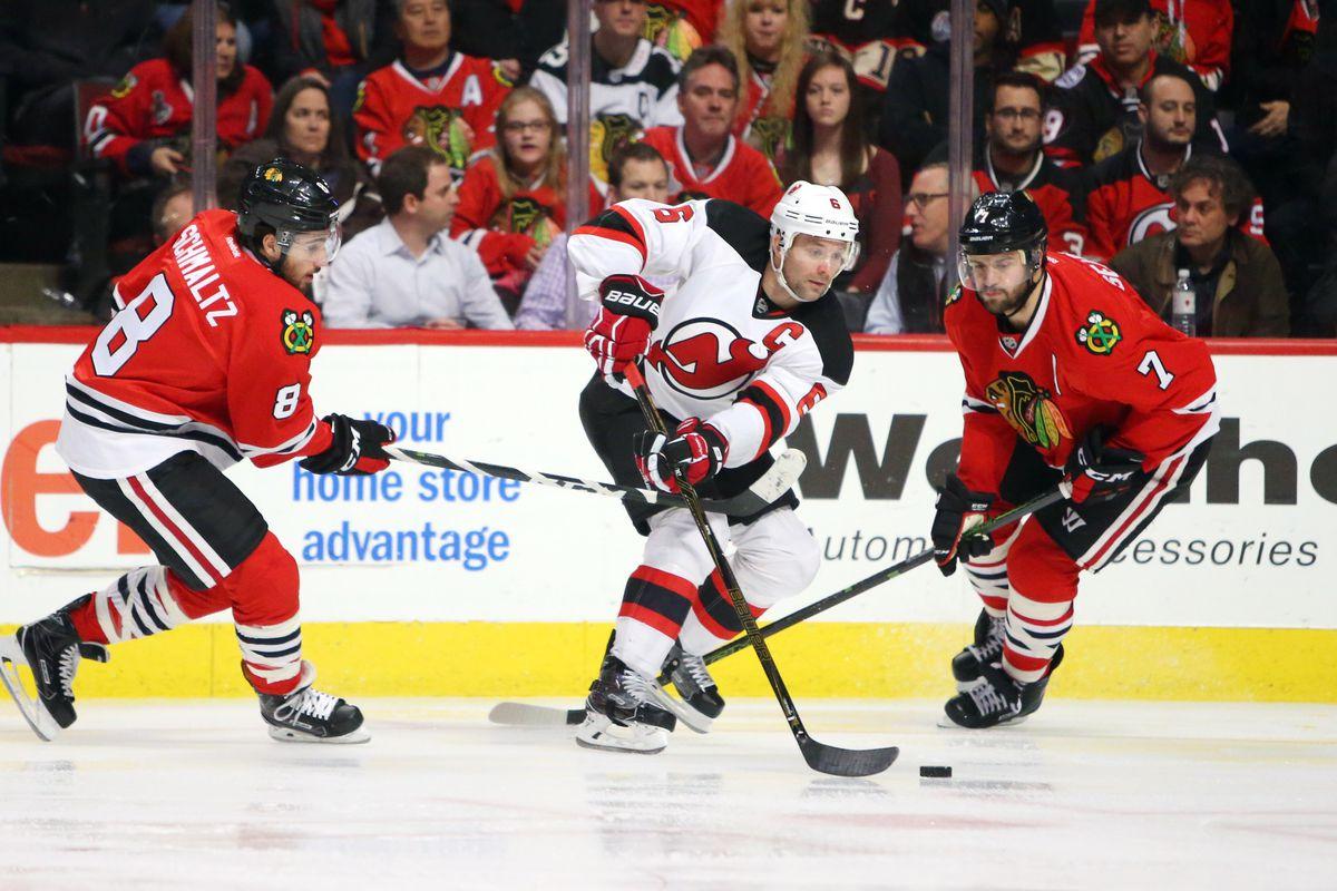 NHL: New Jersey Devils at Chicago Blackhawks