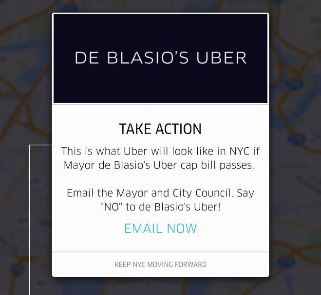 uber de blasio 2