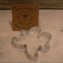 """<a href=""""http://www.muttermuseumstore.com/merchant2/merchant.mvc?Screen=PROD&Store_Code=MutterMuseumStore&Product_Code=000023&Category_Code=CUST"""">Conjoined Gingerbread Men Cookie Cutter</a>, $6.50 at the Mutter Museum"""