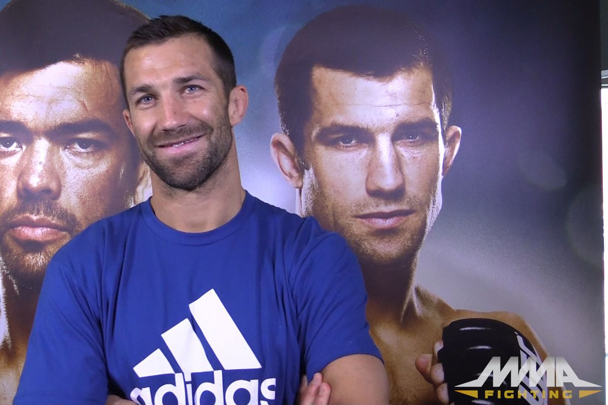 5db5c25a0f Morning Report  Luke Rockhold  afraid fighting is losing its individuality   with UFC s Reebok uniforms