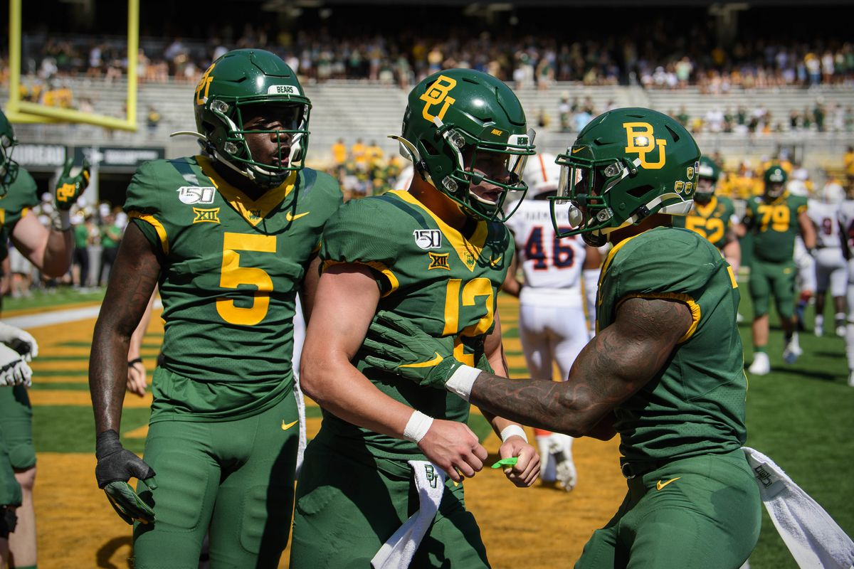 Baylor Opens 28 Point Favorites Against Rice
