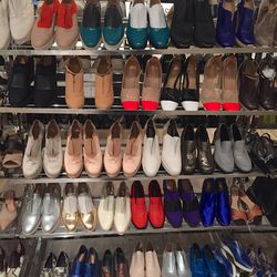 Sample shoes, $75-$100