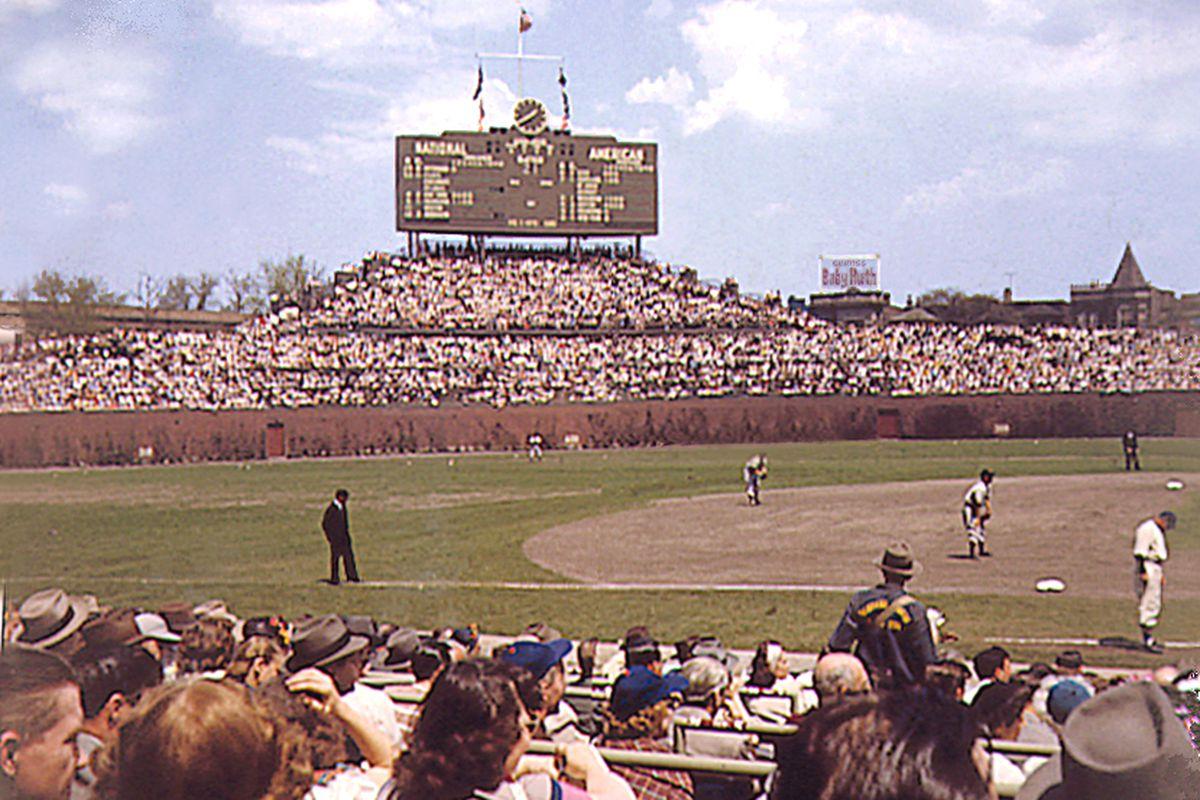 Wrigley Field in 1950