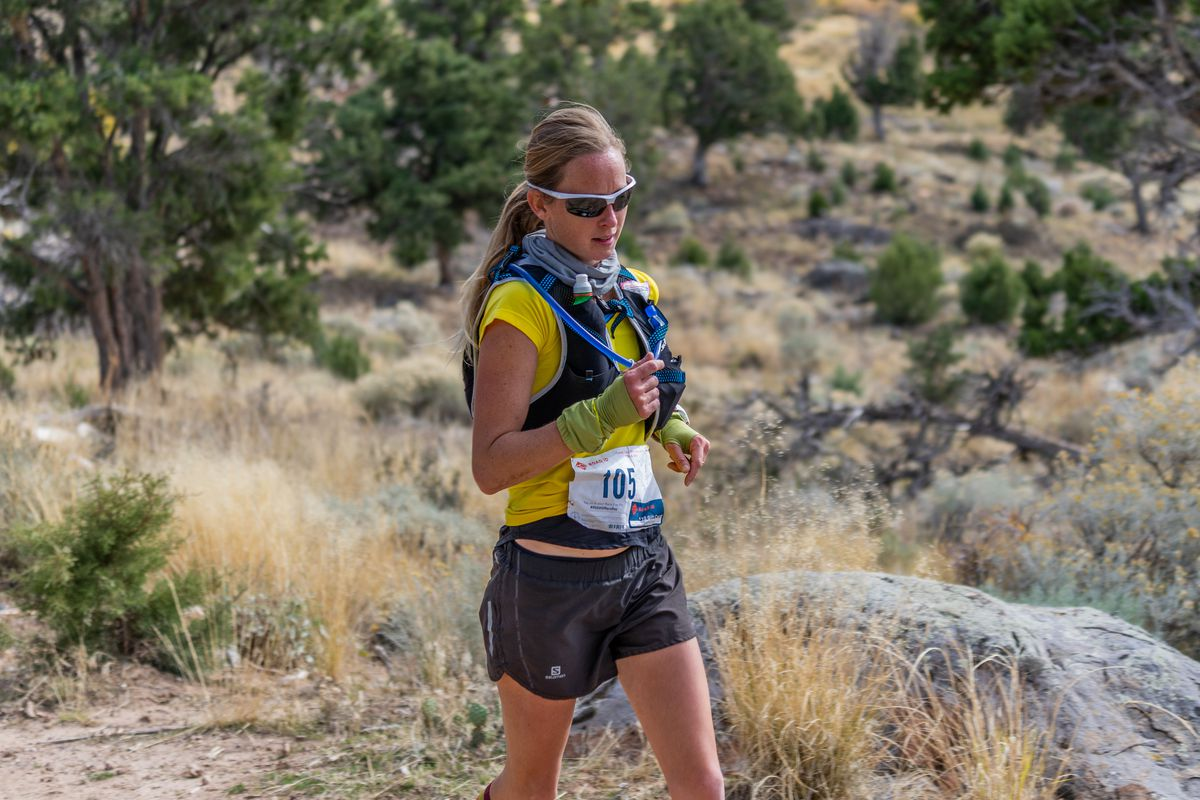 Arianne Brown gained appreciation for her hometown when she ran the Cedar City Thunderbird 50K on Oct. 20.