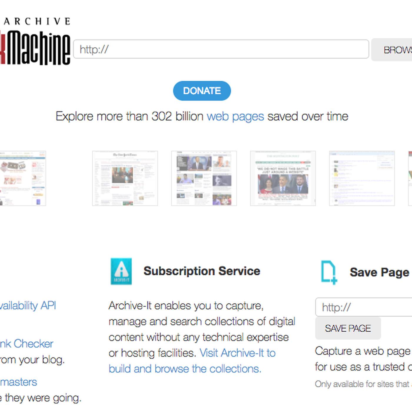 Wayback Machine Has Been Blocked In India The Verge